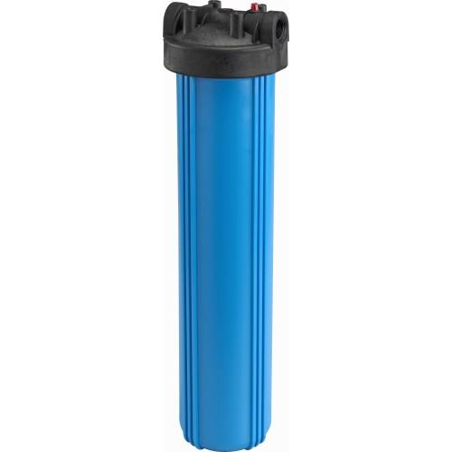 898 20 дюймов Синий корпус фильтра Биг Блю с входом 1 дюймов и сбросом давления