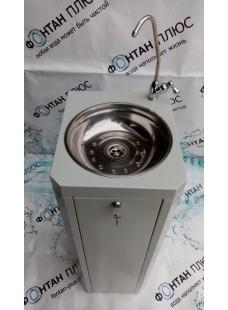 Фонтанчик питьевой Школьник-2П Шестигранный с поворотным краном