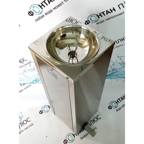 Фонтанчик питьевой Оазис-7 с СанПиН кольцом и педалью