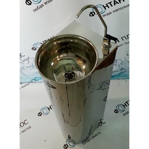 Фонтанчик питьевой Родничок-4 с клавишным краном кольцом