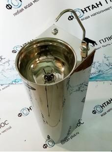 Фонтанчик питьевой Родничок-5 с клавишным краном, кнопкой и СанПиН кольцом