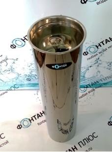Фонтанчик питьевой Росинка-2 ⌀ 210мм с СанПиН кольцом и клавишным краном
