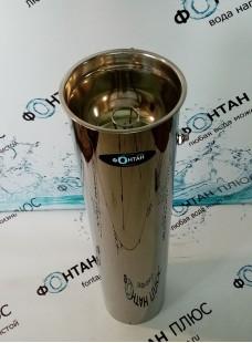 Фонтанчик питьевой Росинка-4 ⌀ 210мм с СанПиН кольцом и кнопкой на корпусе