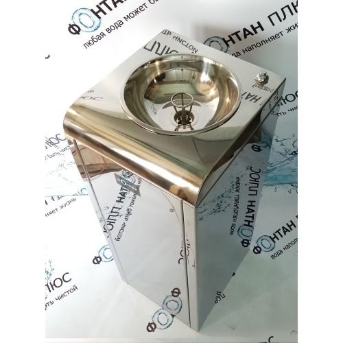Фонтанчик питьевой Школьник-3 с охлаждением, кнопкой и СанПиН кольцом
