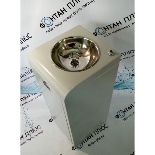 Фонтанчик питьевой Школьник-3П с кнопкой и СанПиН кольцом
