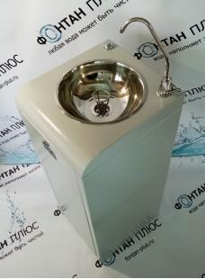 Фонтанчик питьевой Школьник-6П с кнопкой и поворотным краном