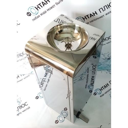 Фонтанчик питьевой Школьник-7 с охлаждением, педалью и СанПиН кольцом
