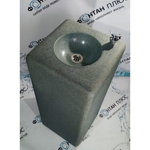Фонтанчик питьевой из искусственного камня с охлаждением и краном-дозатором