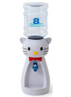 Детский кулер для воды и напитков Kitty White