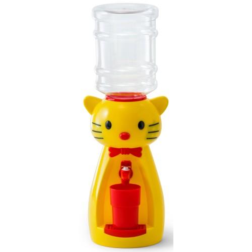 Детский кулер для воды и напитков Kitty Yellow