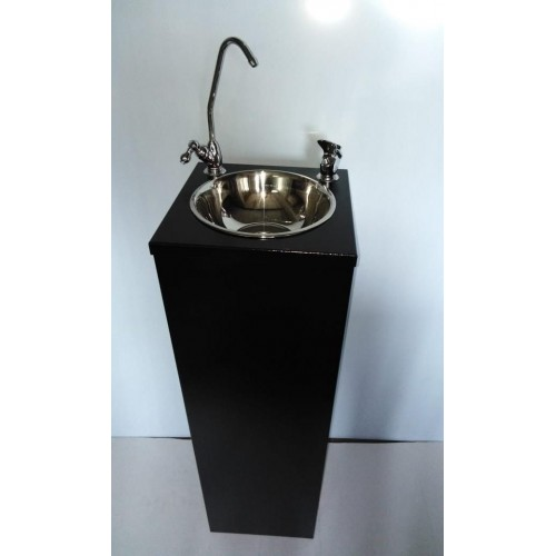Фонтанчик питьевой Оазис-8 с поворотным краном и краном дозатором