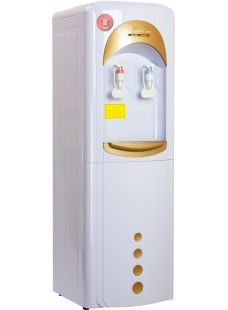 Пурифайер FP напольный П-7 бело/золотой с нагревом и электронным охлаждением